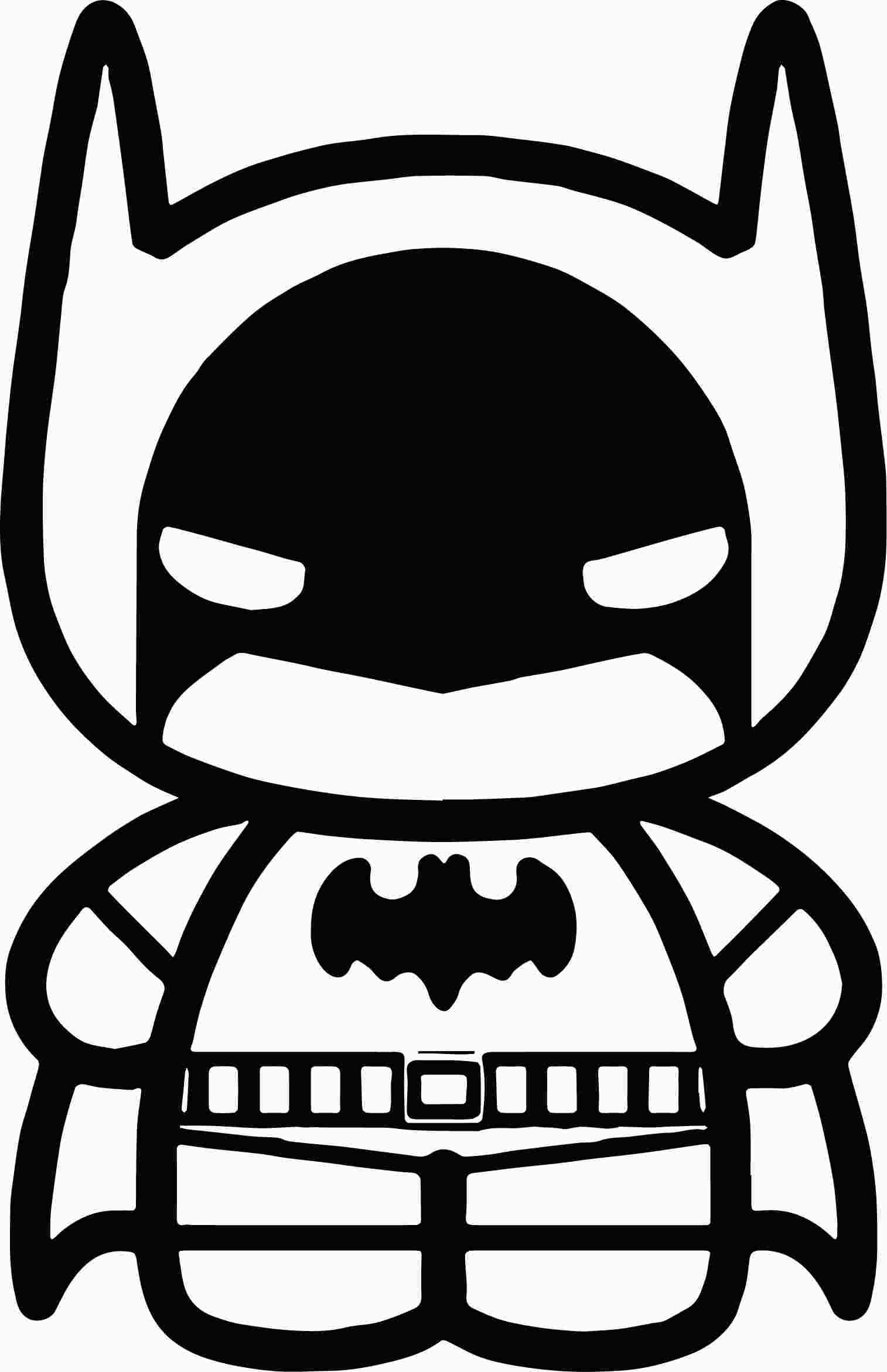Cute Joker Coloring Pages Batman Coloring Pages Chibi Coloring Pages Cute Batman
