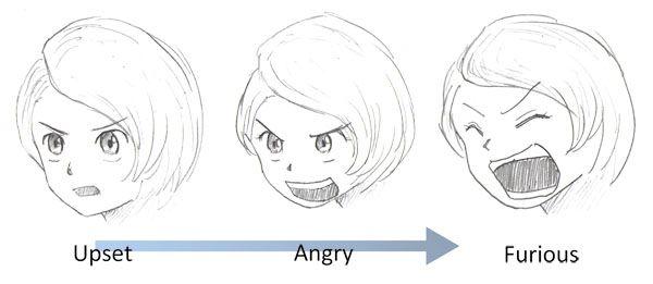 Draw Angry Manga Mouth Jpg 600 261 Manga Mouth Drawings Angry Anime Face