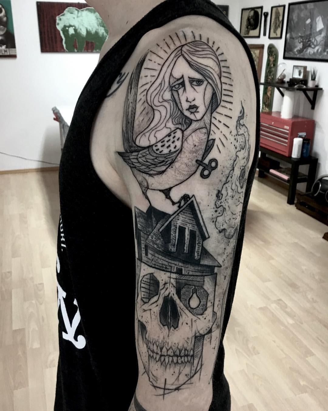 Gaston tonus ink tattoo portrait tattoo ink