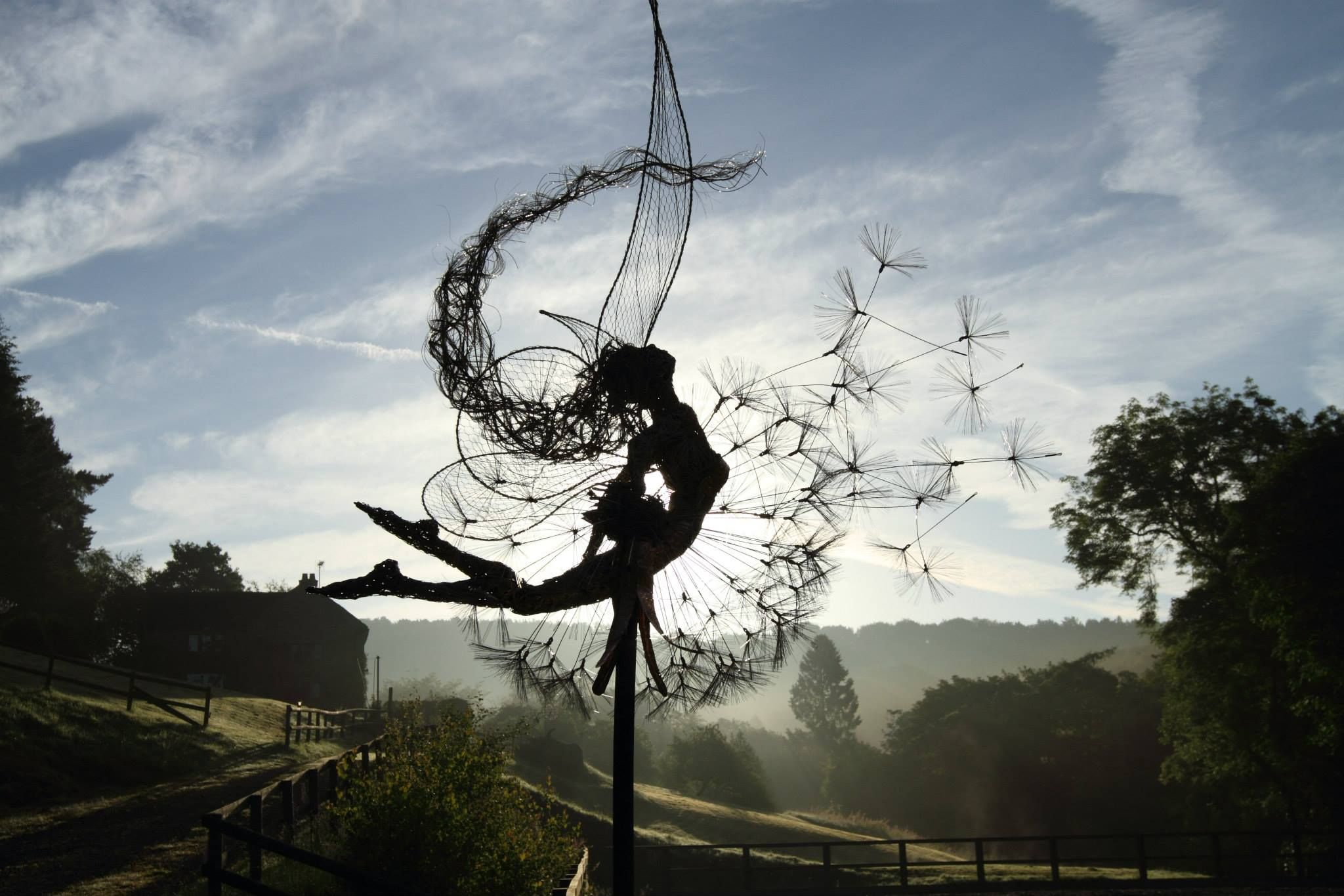 Pin by Margery Messing on Wire fairies | Pinterest | Copper wire art ...
