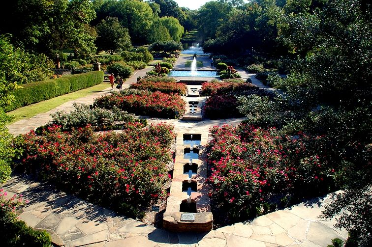 Japanese Gardens Wedding At The Fort Worth Botanical Photographer Outdoor Garden Bride And Bridesmai