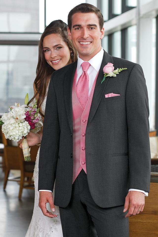 Jean Yves Steel Grey Ceremonia Slim Fit Suit | Jim\'s Formal Wear ...
