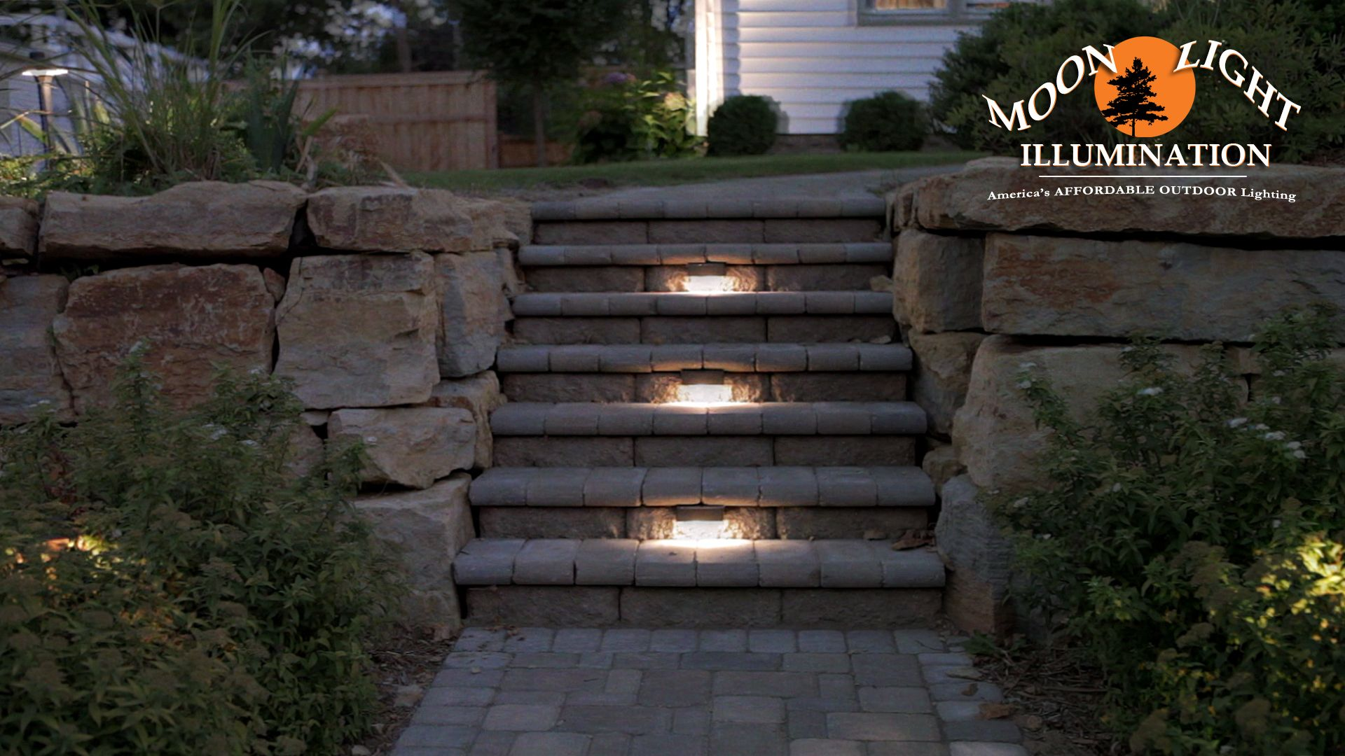 Outdoor Low Voltage Lighting Under Cap Lights On Stairs And Steps Path Lights In Landscape Beds Softly Illuminat Home Landscaping Landscape Lighting Outdoor