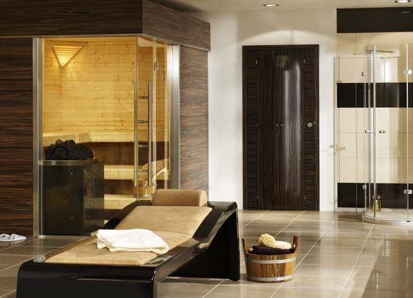 My Dream Bathroom... Sauna, Spa And All. Just Missing A Jacuzzi
