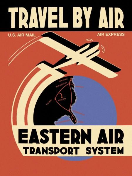 Unknown - Eastern Air Transport System - art prints and posters
