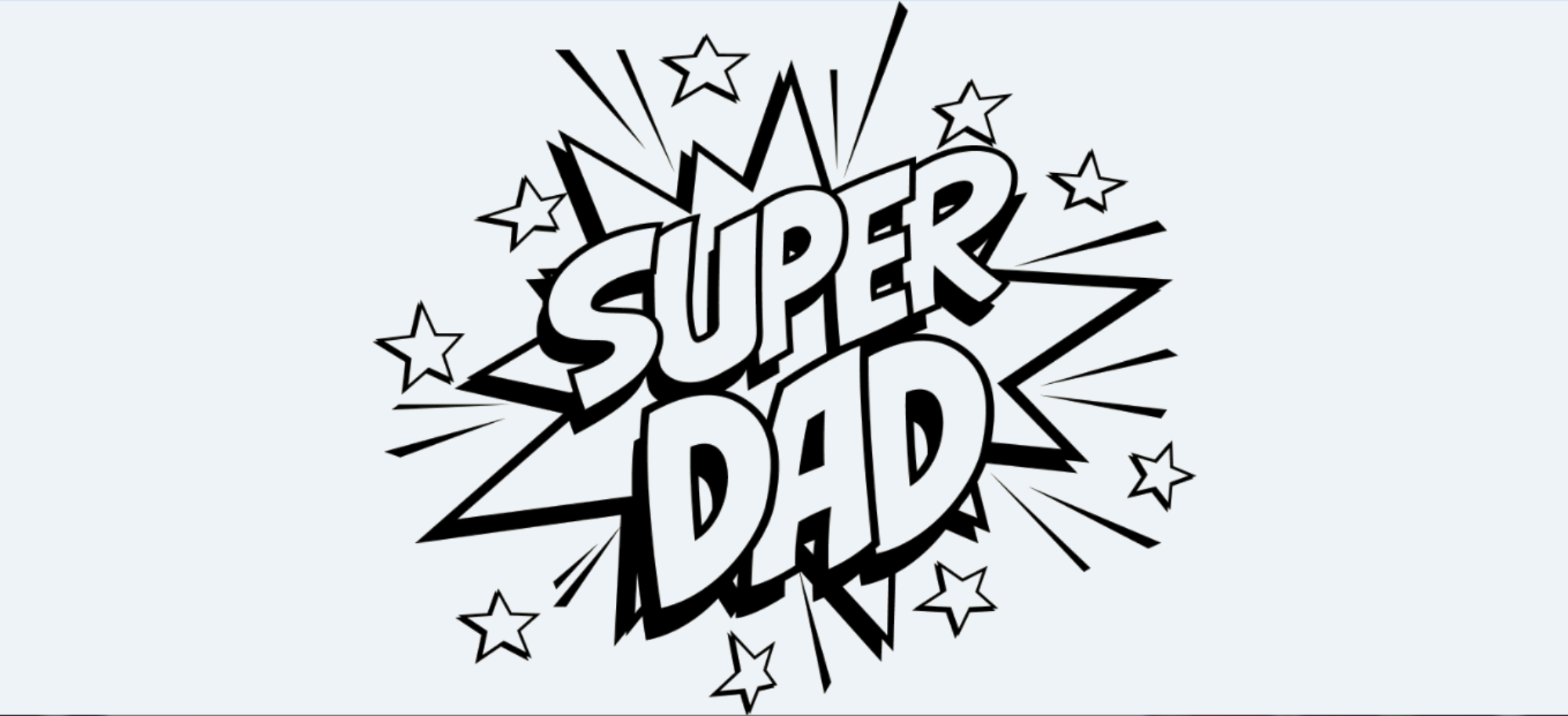 Super Dad Svg In