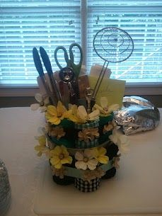 Utensil Cake Tutorial via Small Town Mix