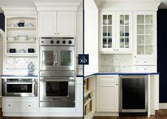 Blue Kitchen by KBW & Associates http://www.wayfair.com/Shop-The-Look/Gallery/Blue-Kitchen-G7330?refid=SBP.rBAjEla7ky9mrwR-wgV8AtUtbY_XBUdDrEsDxpGIJWQ