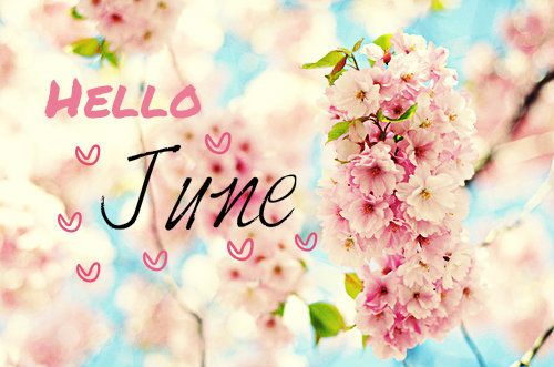 Hello june,Pink,Happiness - inspiring picture on PicShip.com  Months  Pinte...
