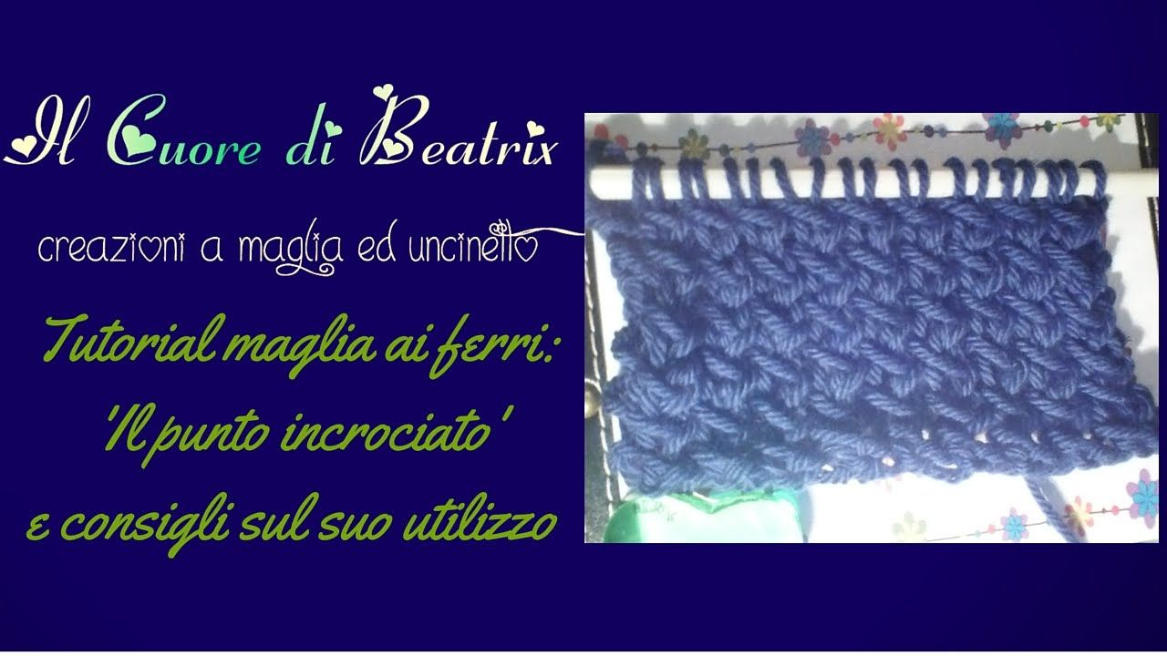 Punto incrociato ai ferri – Beatrix Design