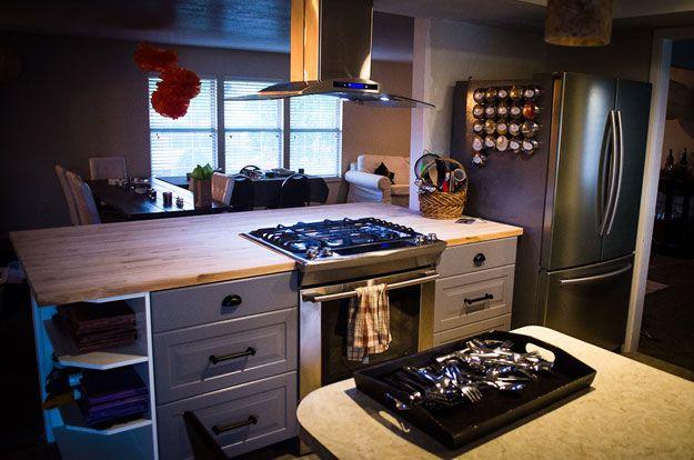 Un îlot De Cuisine IKEA NUMERÄR Abordable Ilot De Cuisine Ikea - Buse gaziniere pour idees de deco de cuisine