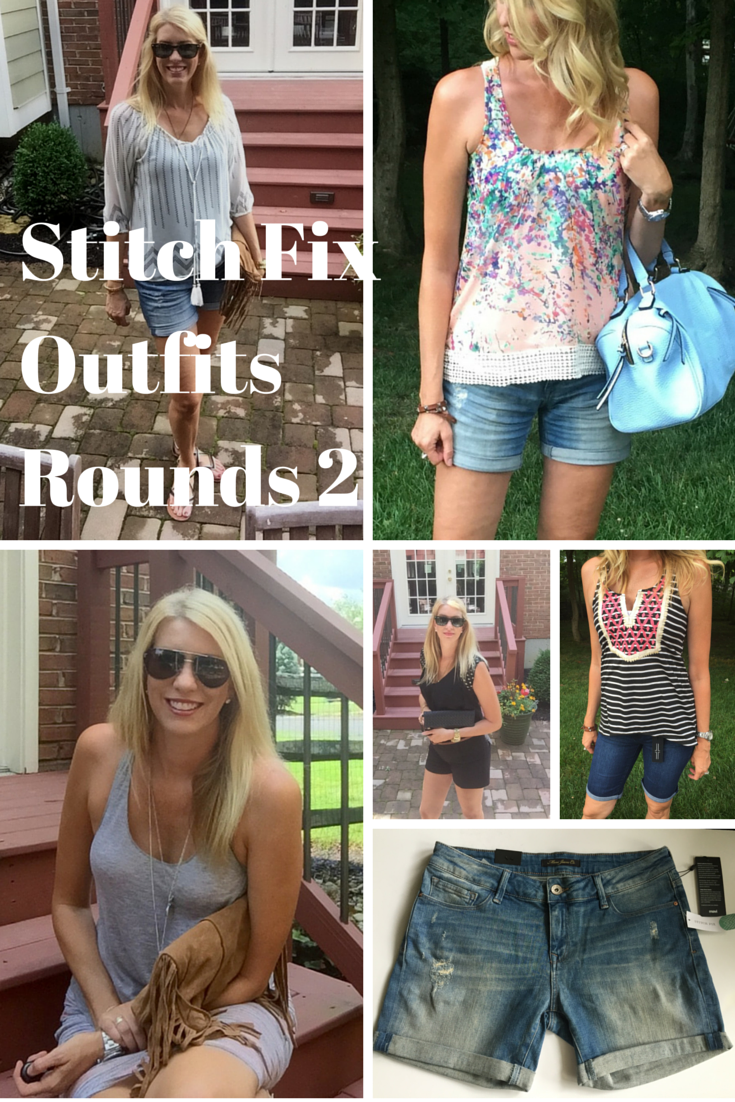 6 Outfits Using my Stitch Fix Items @ mylifefromhome.com