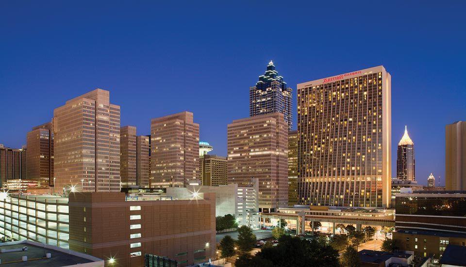 Downtown Atlanta Hotel Marriott Marquis Georgia A Premier Ga