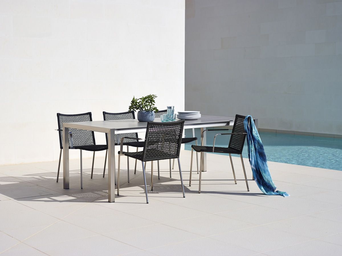 The Straw Lounge Chair Is A Combination Of Cane Lineu0027s #Innovative #Rope  Material · Garden ChairsOutdoor ...