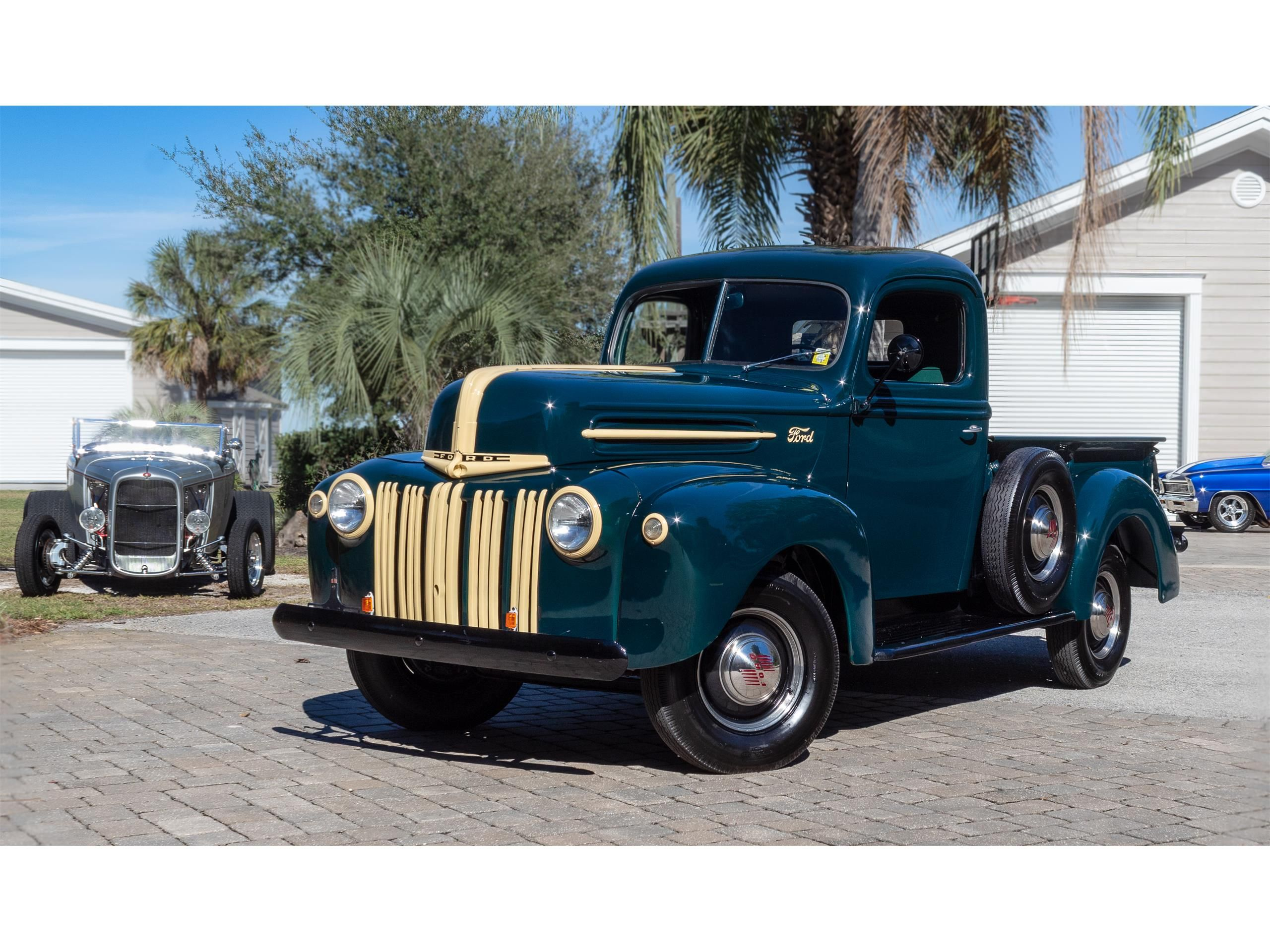 1945 Ford 1 2 Ton Pickup For Sale Listing Id Cc 1168337 Classiccars Com Driveyourdream Classictruck Fo Classic Trucks Old Trucks Old Trucks For Sale