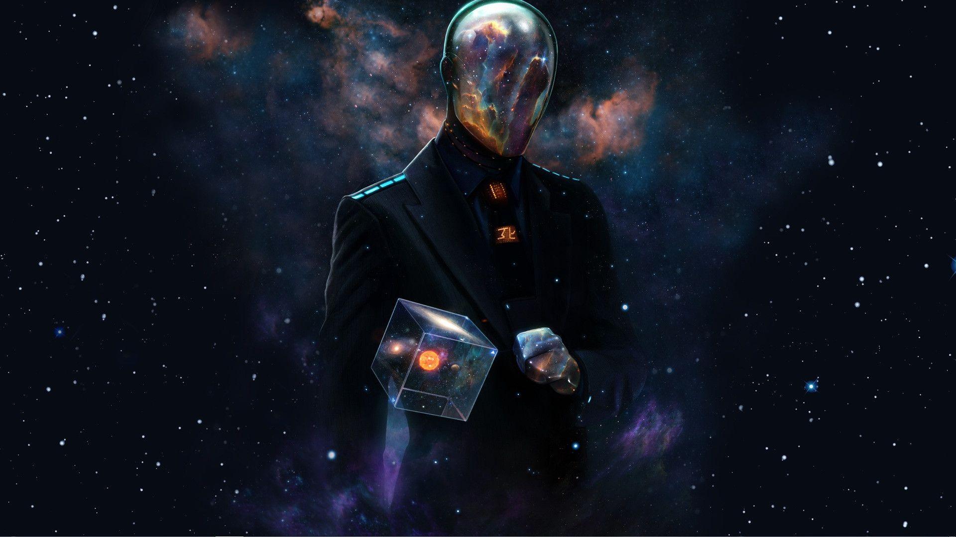Futuristic Alien Male Alpha Coders Wallpaper Abyss Video