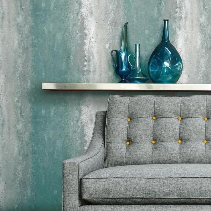 Oxidized Metal Peel And Stick Wallpaper Peel And Stick Wallpaper Room Visualizer Roommate Decor