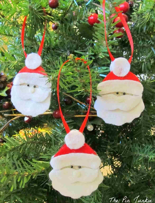 Décoration sapin de Noël faire soimême ornements en