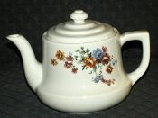 Hall China Scoop WILDFLOWER Drip-O-Lator Coffee Pot