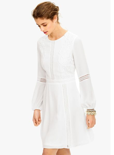 Buy Next White Lace Panel Dress for Women Online India, Best Prices, Reviews…