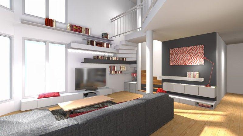 la maison france 5 am nagement sous escalier maison. Black Bedroom Furniture Sets. Home Design Ideas