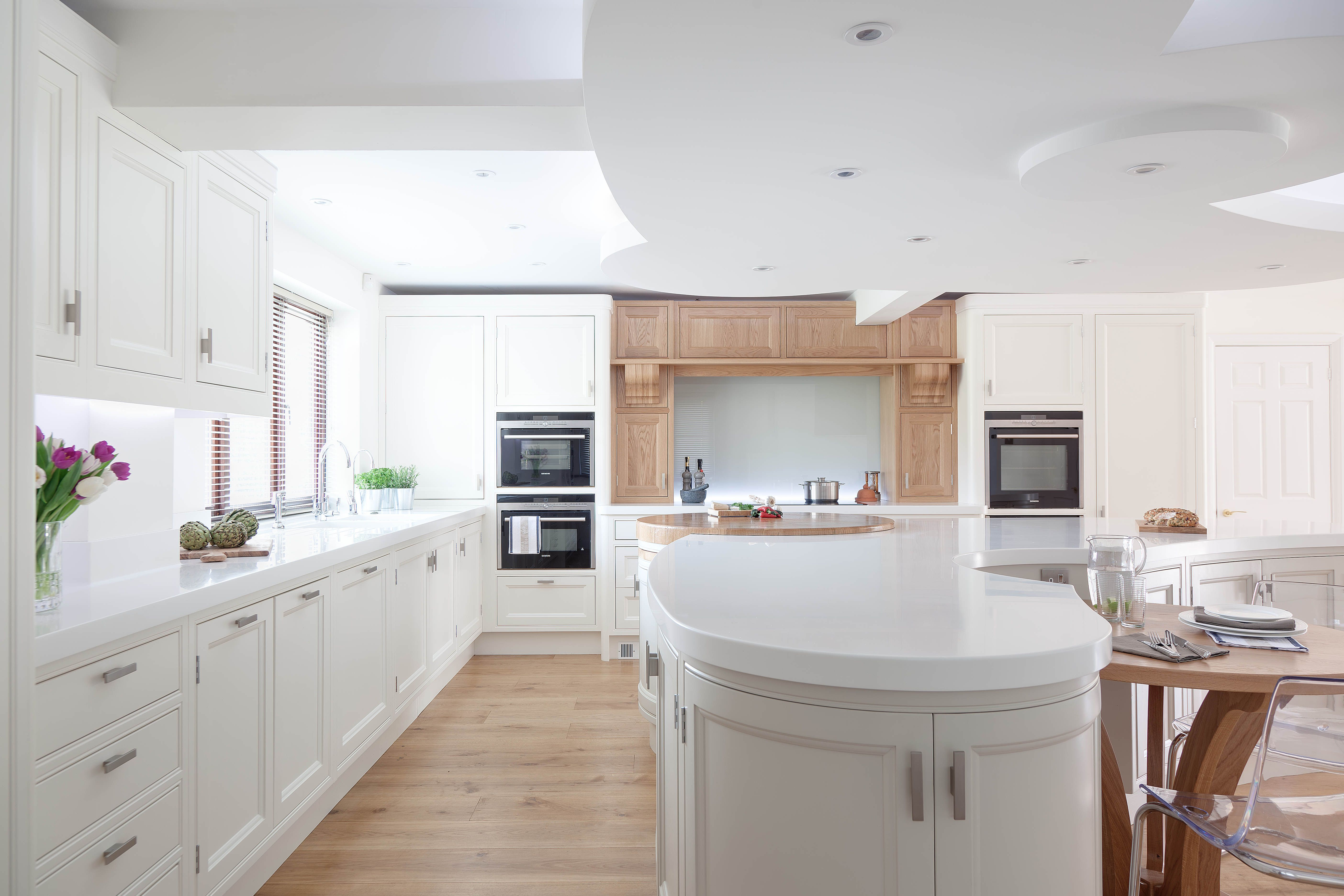 The brief was to design a kitchen that was large, spacious with ...