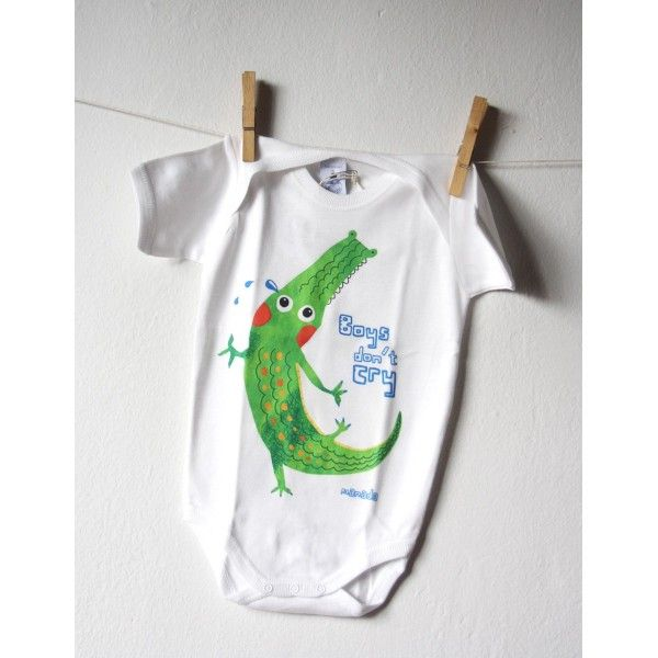 LUCAS CROCODILE - Body Bebé - ManadaShop