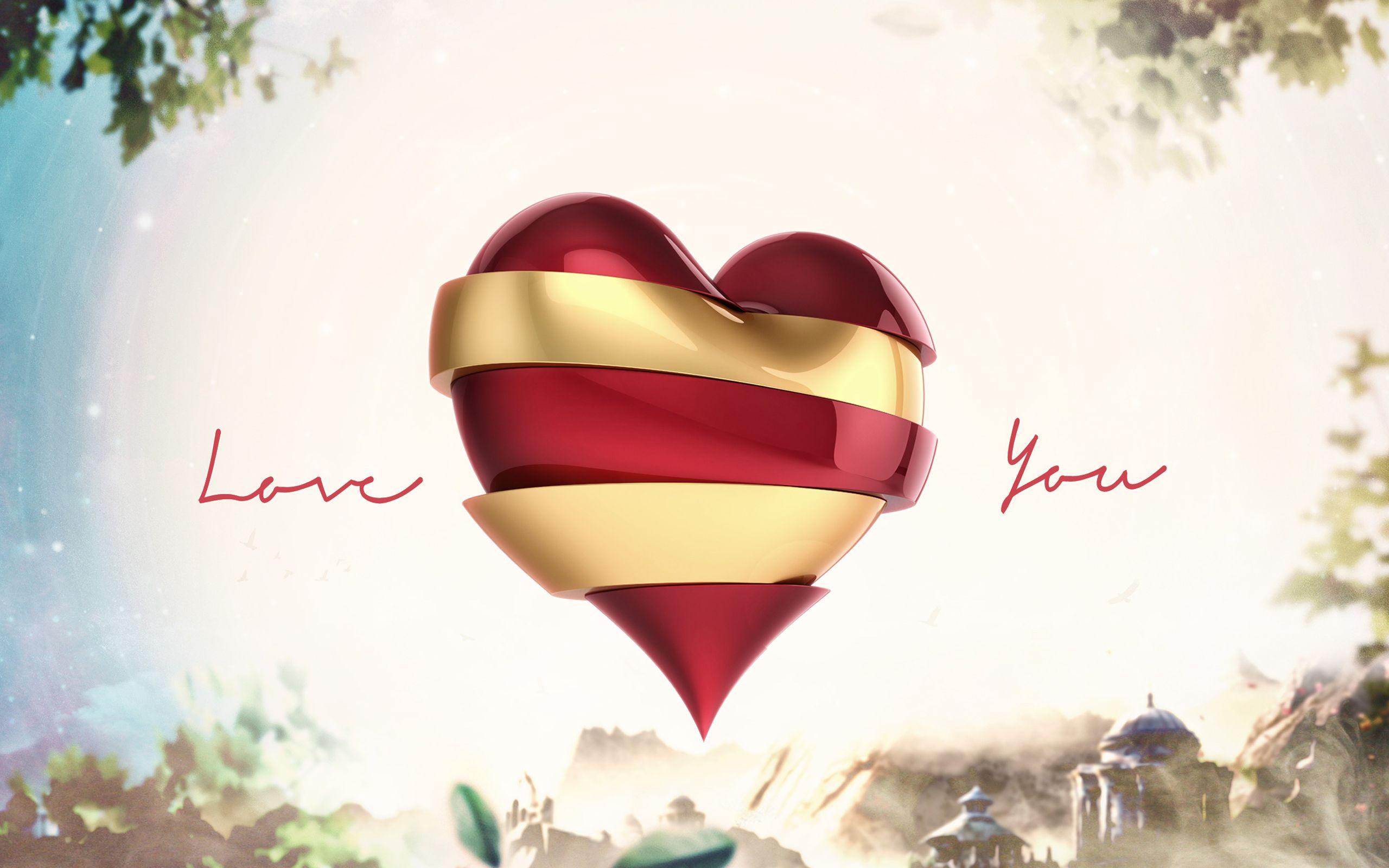 Beautiful Love Hd Wallpaper With Heart Love Romance Rose Hearts