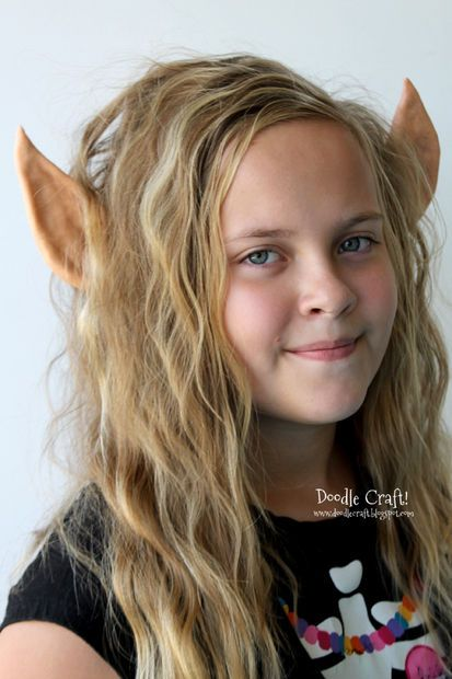 Elven Princess Or Christmas Elf Ears Headband