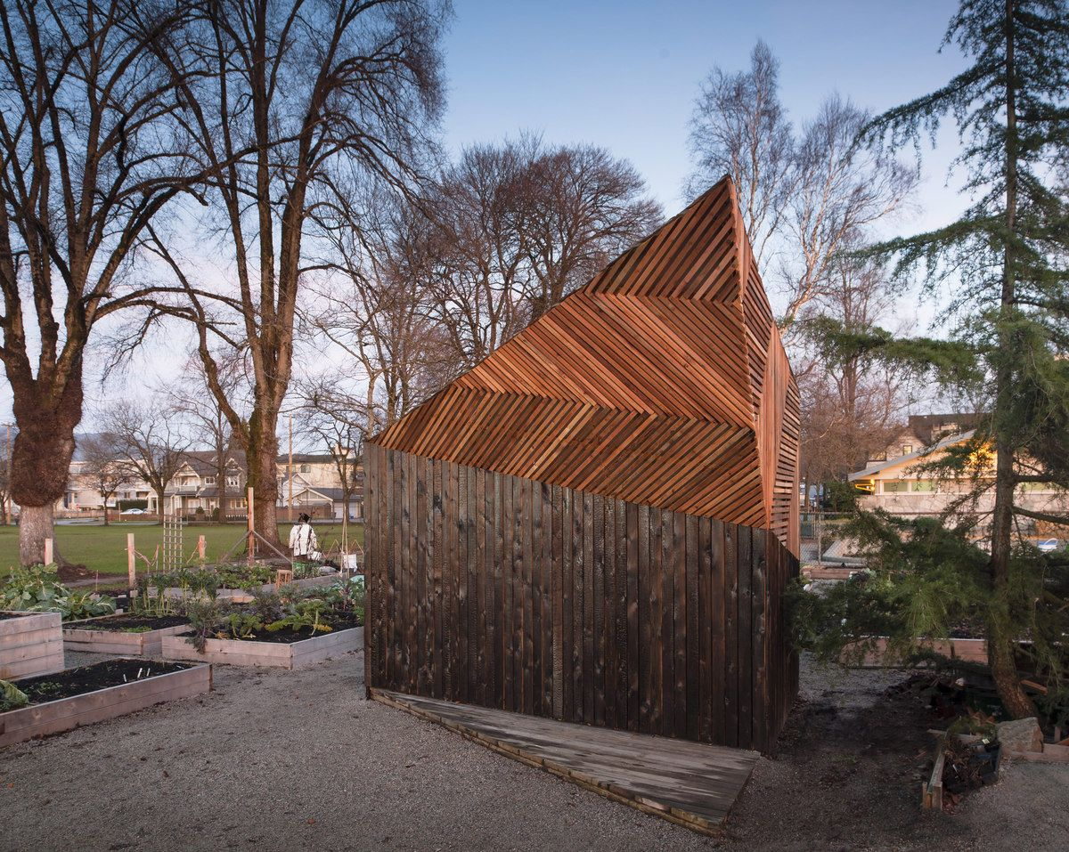 built by brendan callanderjason pielak stella cheung boyland in vancouver canada this garden shed was designed and constructed in partnership by ubc - Garden Sheds Vancouver