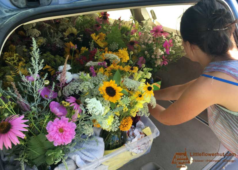 Flower Delivery Expert How to Transport Flowers in a Car