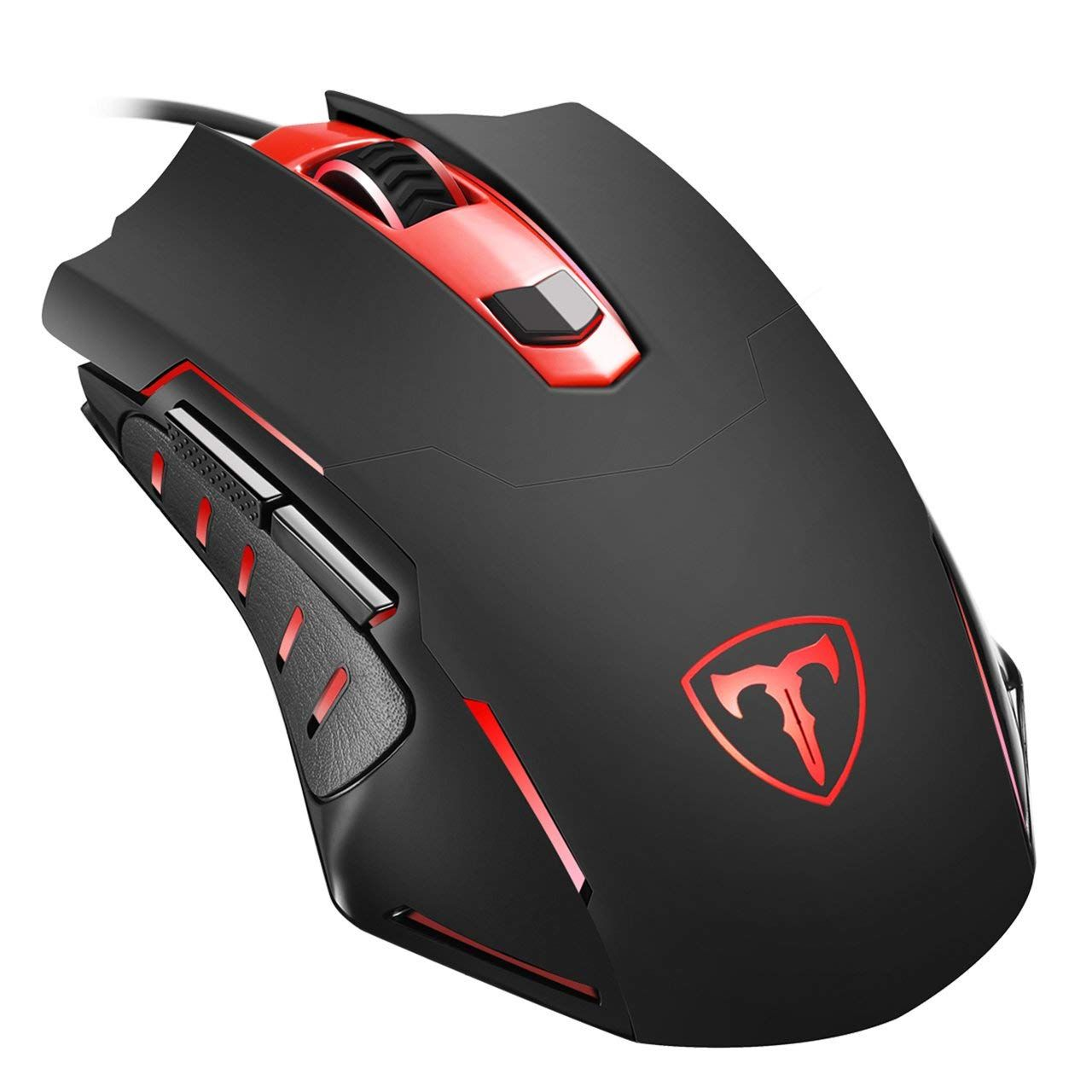 Black 6 Buttons 2400DPI Adjustable USB Wired Optical Gaming Mouse for Desktop PC Laptops - 1 6 Buttons 2400DPI Adjustable USB Wired Optical Gaming Mouse for Desktop Keyboards /& Mouse Mouse -