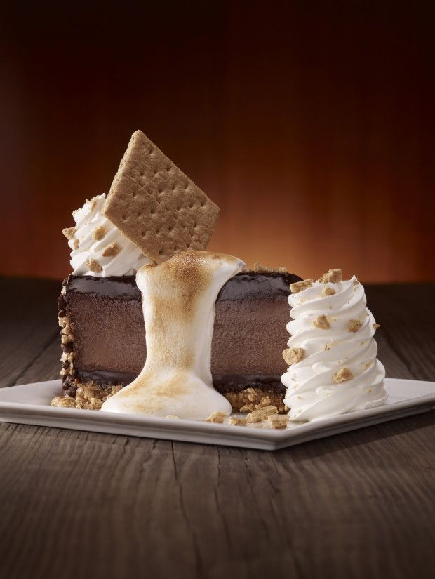 This year's Cheesecake Factory creation is S'mores! Who else thinks this new cheesecake looks amazing? My mouth waters just looking at it! I can't wait!