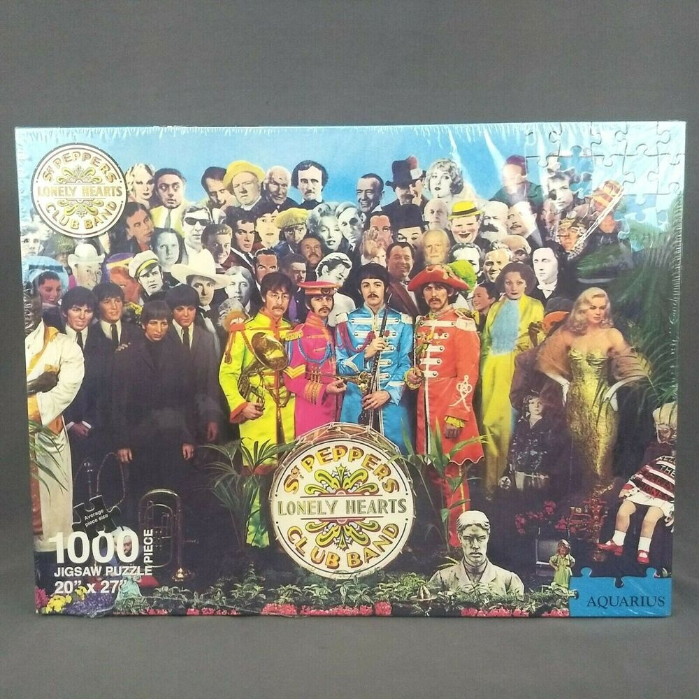 The Beatles Sgt Pepper's Lonely Hearts Club Band 1000 PC ...