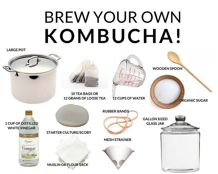 Learn How To Brew Kombucha Tea At Home Here S Everything You Need To Know Kombucha Kombucha Flavors How To Brew Kombucha