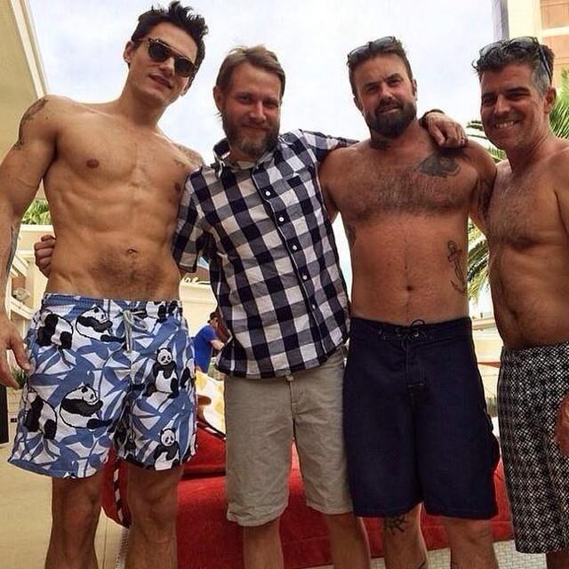 Brothers John Mayer: John Mayer Shirtless
