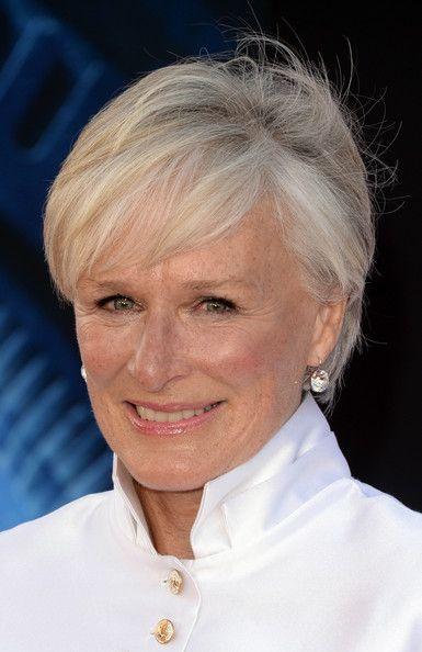 More Pics Of Glenn Close Short Cut With Bangs In 2019