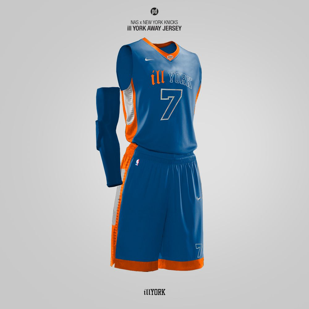 New York Knicks Jersey Concept