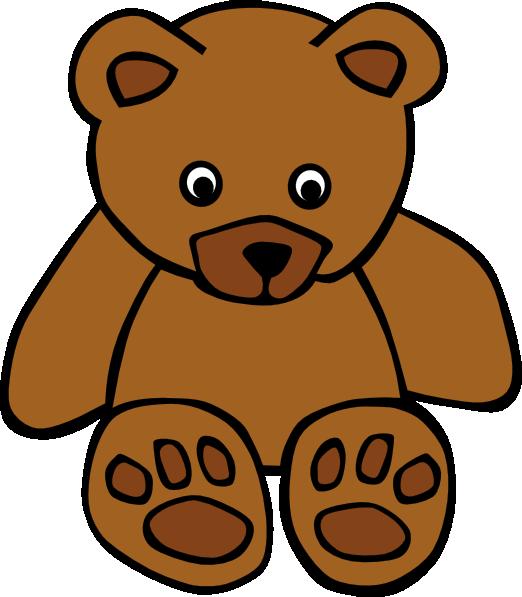 rabbit bear clip art silhouette download vector clip art online rh pinterest com teddy bears clipart black and white teddy bear clipart images