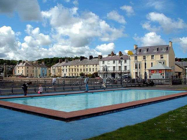 Beaumaris lido north wales and wales - Outdoor swimming pool covent garden ...