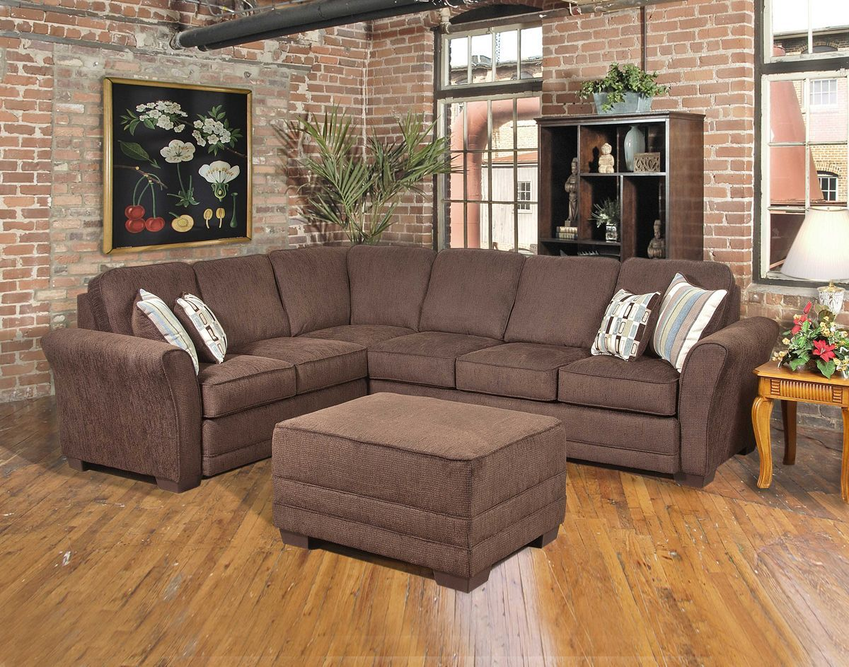 New Style Now On Display Another Great Sectional With Serta Upholstery The Radar Brown Chenille Sectio Sectional Couch Sectional Sofa Sectional Sofa Couch #serta #living #room #sets