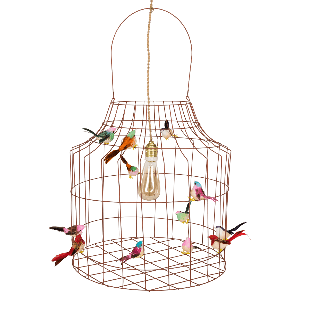 Dutch Dilight Vogelkooi Hanglamp Lampshade Birdcage Light Home Decor House