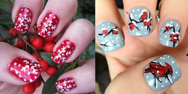 Cute Nail Art 15 Cute Inspiring Winter Nail Art Designs Ideas