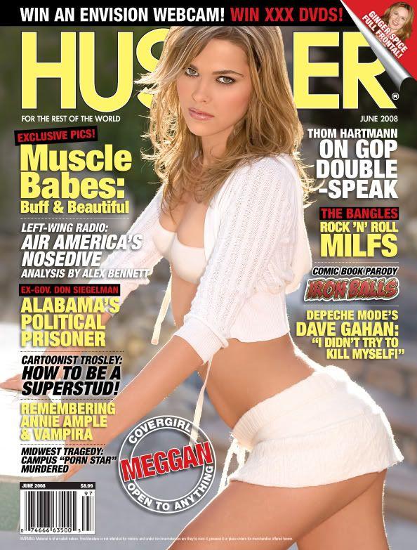 Female rocker hustler spread