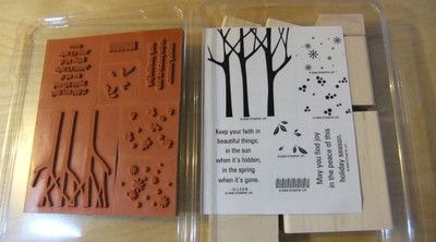 Stampin up trees