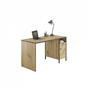 Williston Forge A desk should not be missing in any work or children's room. The timeless design with an open compartment, drawer, and cupboard compartment can be set up on the left or right side.