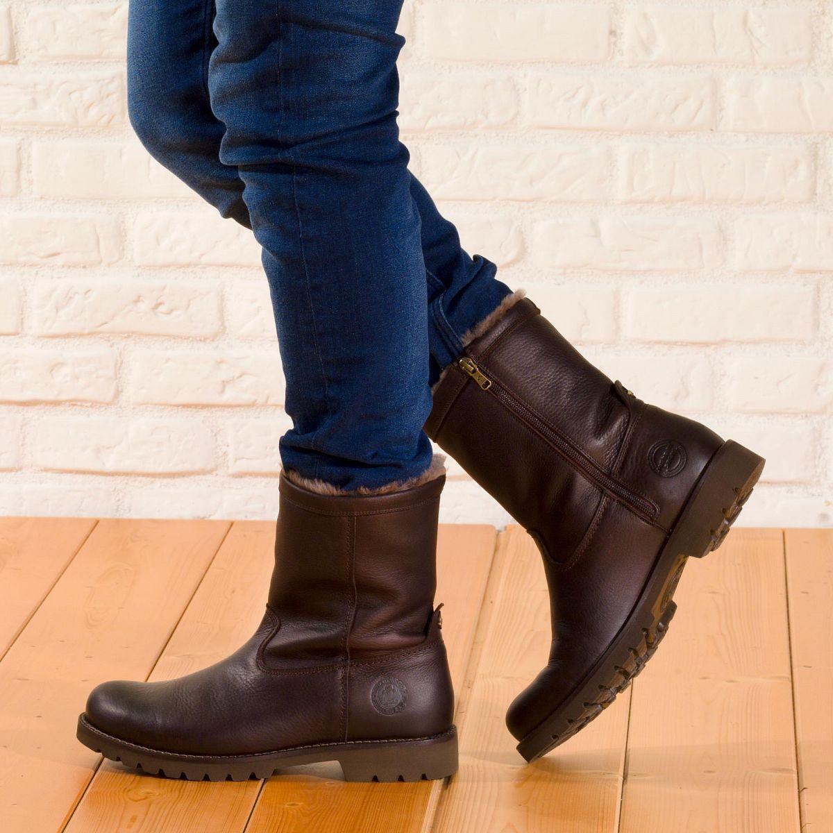 Panama Jack Fedro Igloo Boots Shoes Biker Boot
