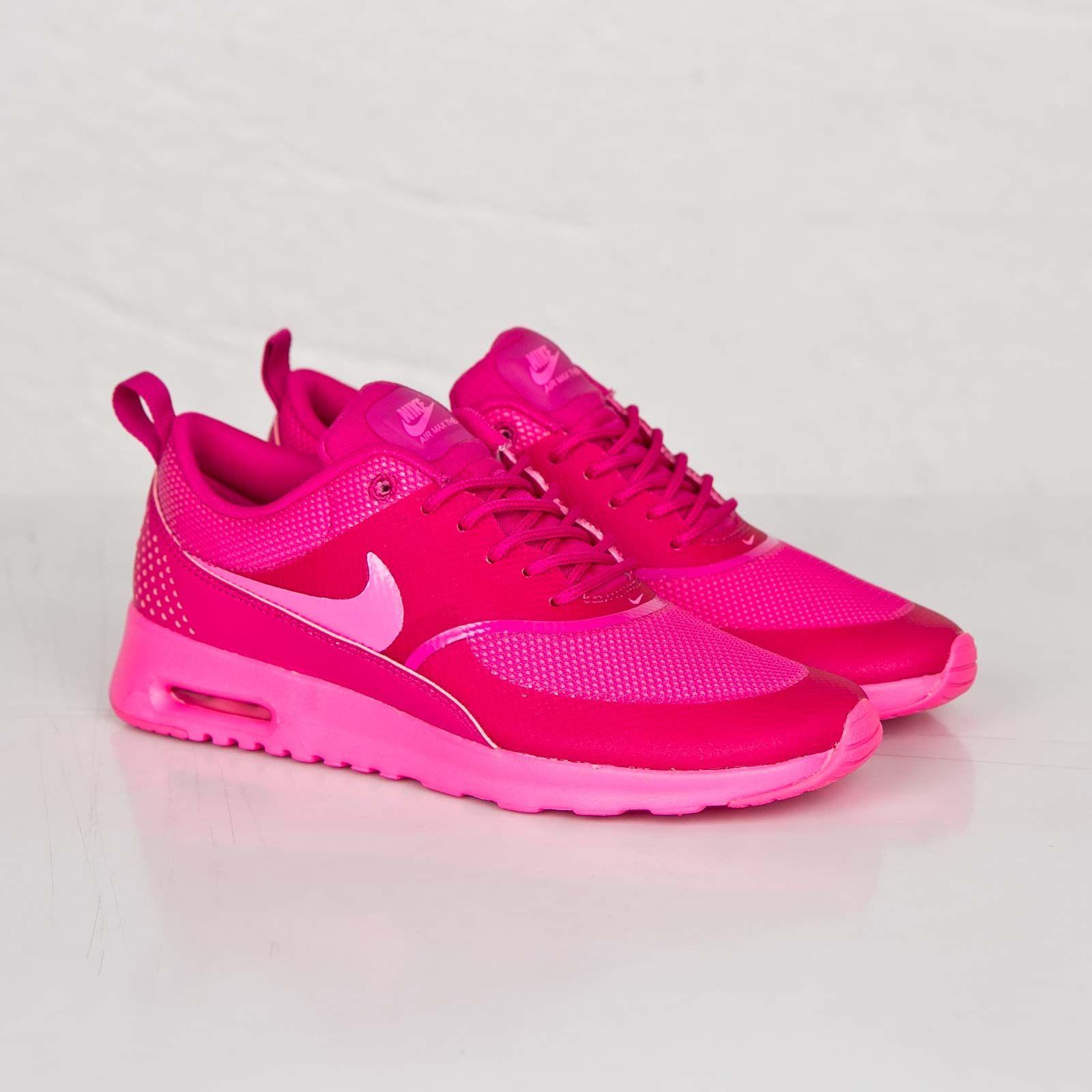 nike air max thea print damen atomic pink