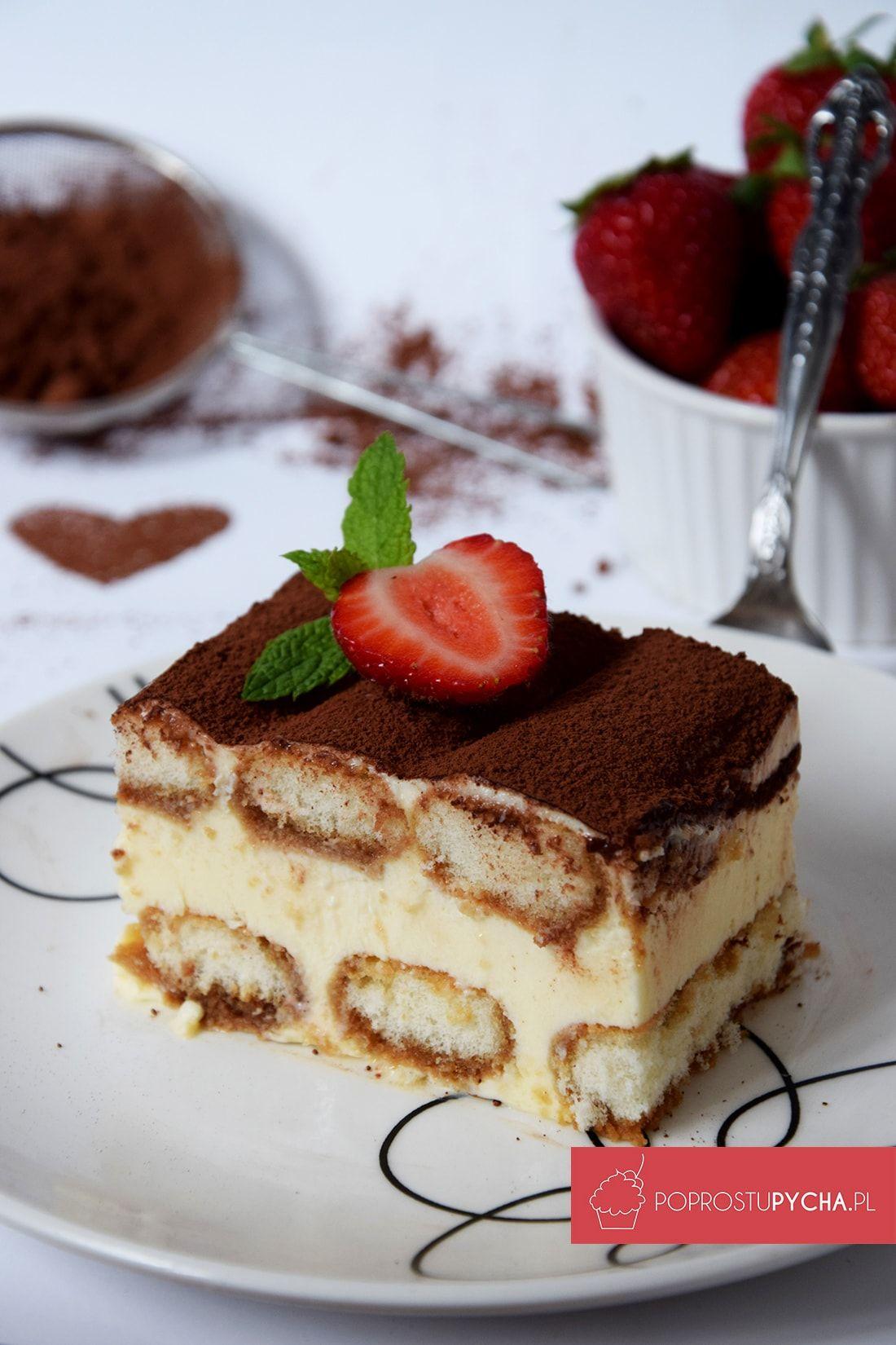 Wloskie Tiramisu Cake Recipes Food Desserts