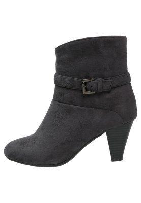 8e1ef33b4d0bb Zalando Boots - dark grey   Fashion Loz   Pinterest   Fashion, Boots ...